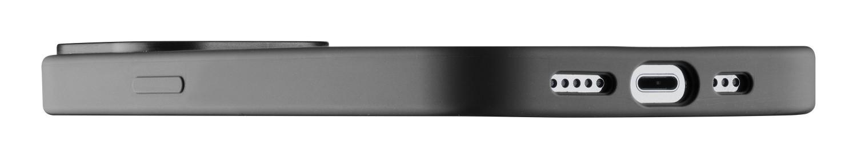 Silikonový kryt Cellularline Sensation pro Apple iPhone 13 Mini, černá