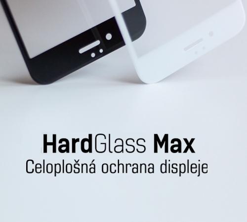 Tvrzené sklo 3mk HardGlass MAX Full Glue pro Samsung Galaxy S8, černá