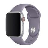 Set silikonových řemínků FIXED Silicone Strap pro Apple Watch 42/44/45 mm, fialová
