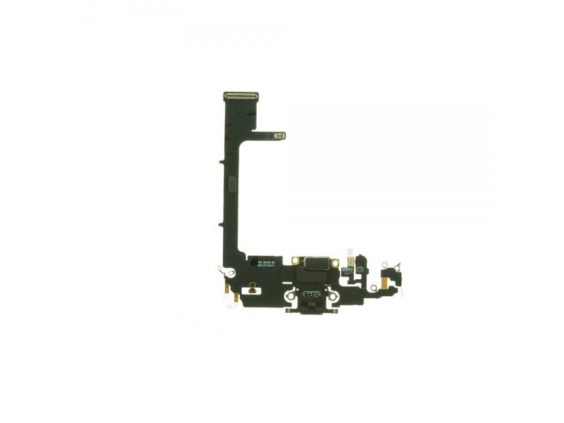 Charging Dock Connector Flex + Board Deep Gray pro Apple iPhone 11 Pro (Genuine)