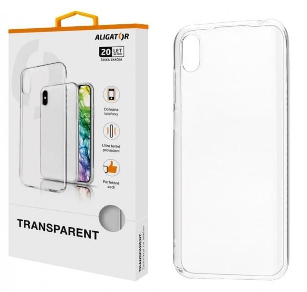 Silikonové pouzdro TRANSPARENT ALIGATOR pro Xiaomi Redmi Note 9T 5G