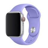 Set silikonových řemínků FIXED Silicone Strap pro Apple Watch 38/40/41 mm, šeříková