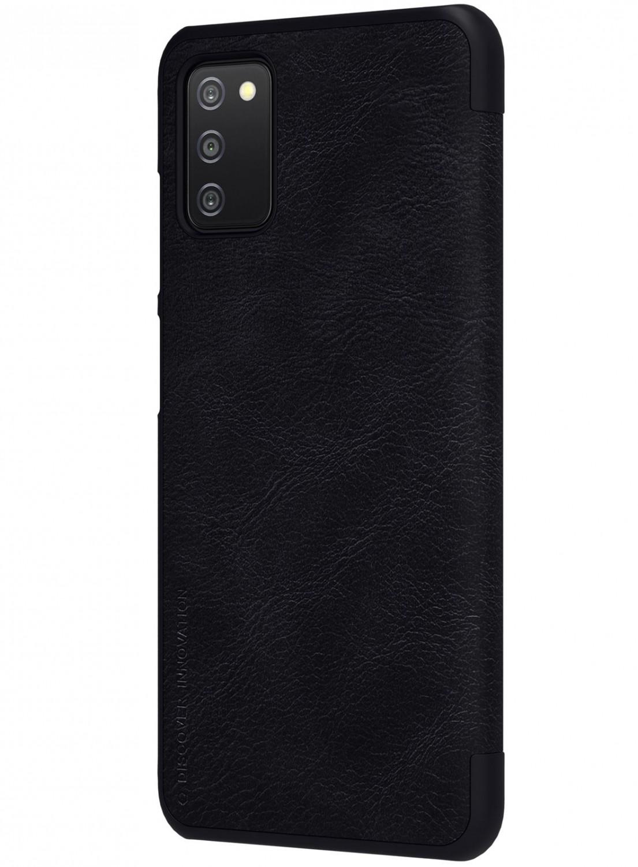Nillkin Qin flipové pouzdro pro Samsung Galaxy A03s, černá