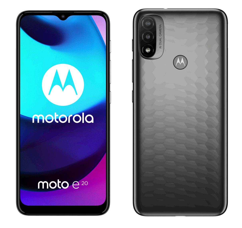 Motorola Moto E20 2+32GB DS GSM tel. Graphite