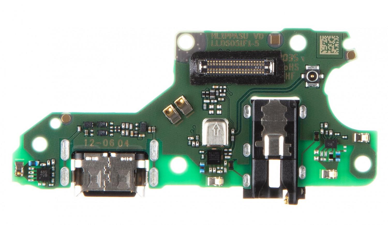 Huawei P Smart 2021 Deska vč. Dobíjecího Konektoru (Service Pack)