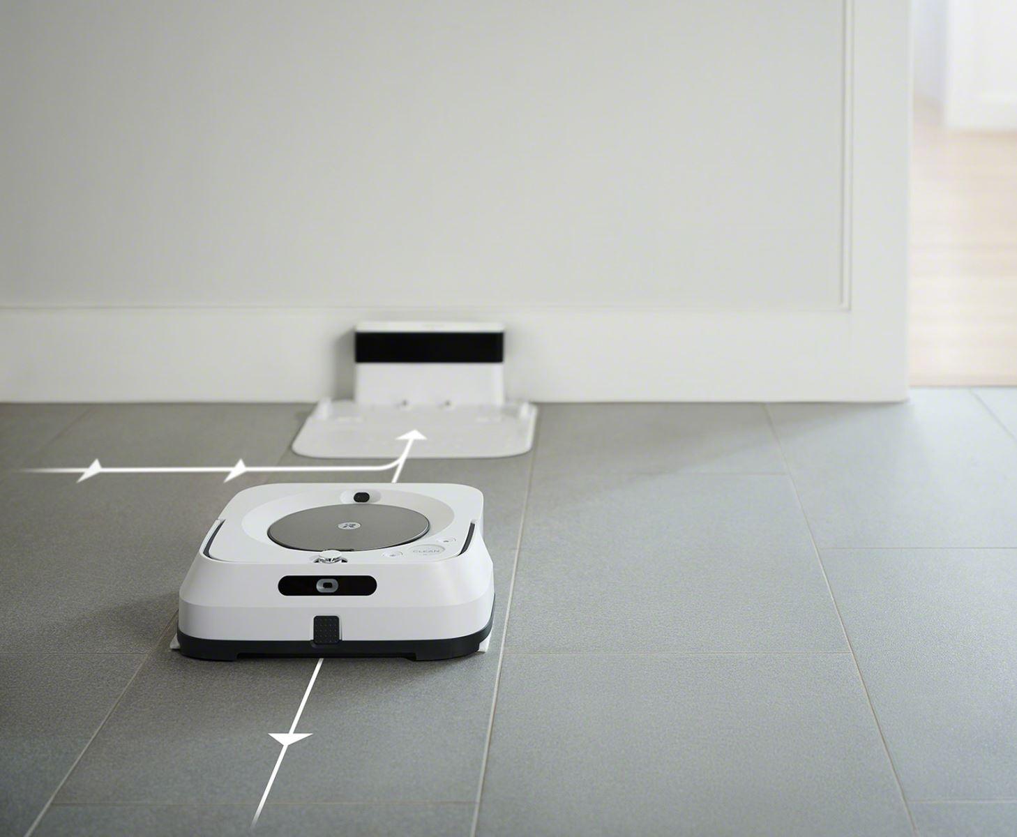 Robotický mop iRobot Braava m6, bílá