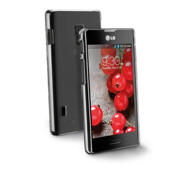 Ochranné pouzdro CellularLine Invisible pro LG P710 Optimus L7 II, průhledný