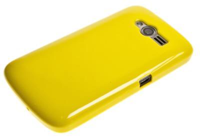 Silikonové pouzdro TPU SUPER GEL pro Aligator S4000/S4020 DUO žluté
