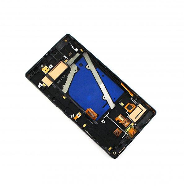 LCD Display + Dotyková Deska + Přední Kryt Black pro Nokia 930 Lumia - originál