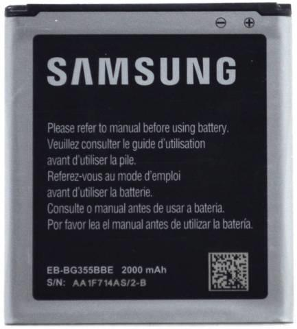 Originální baterie EB-BG355BBE, Li-Ion 2000mAh (Bulk)