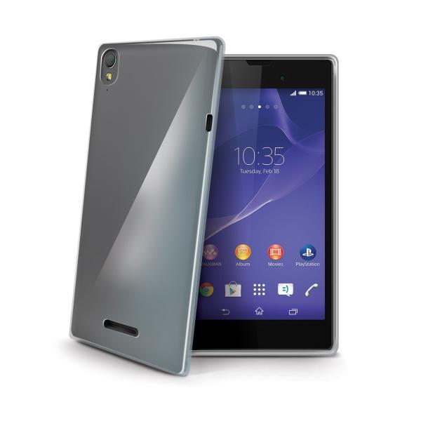 TPU pouzdro CELLY Gelskin pro Sony Xperia T3, bezbarvé