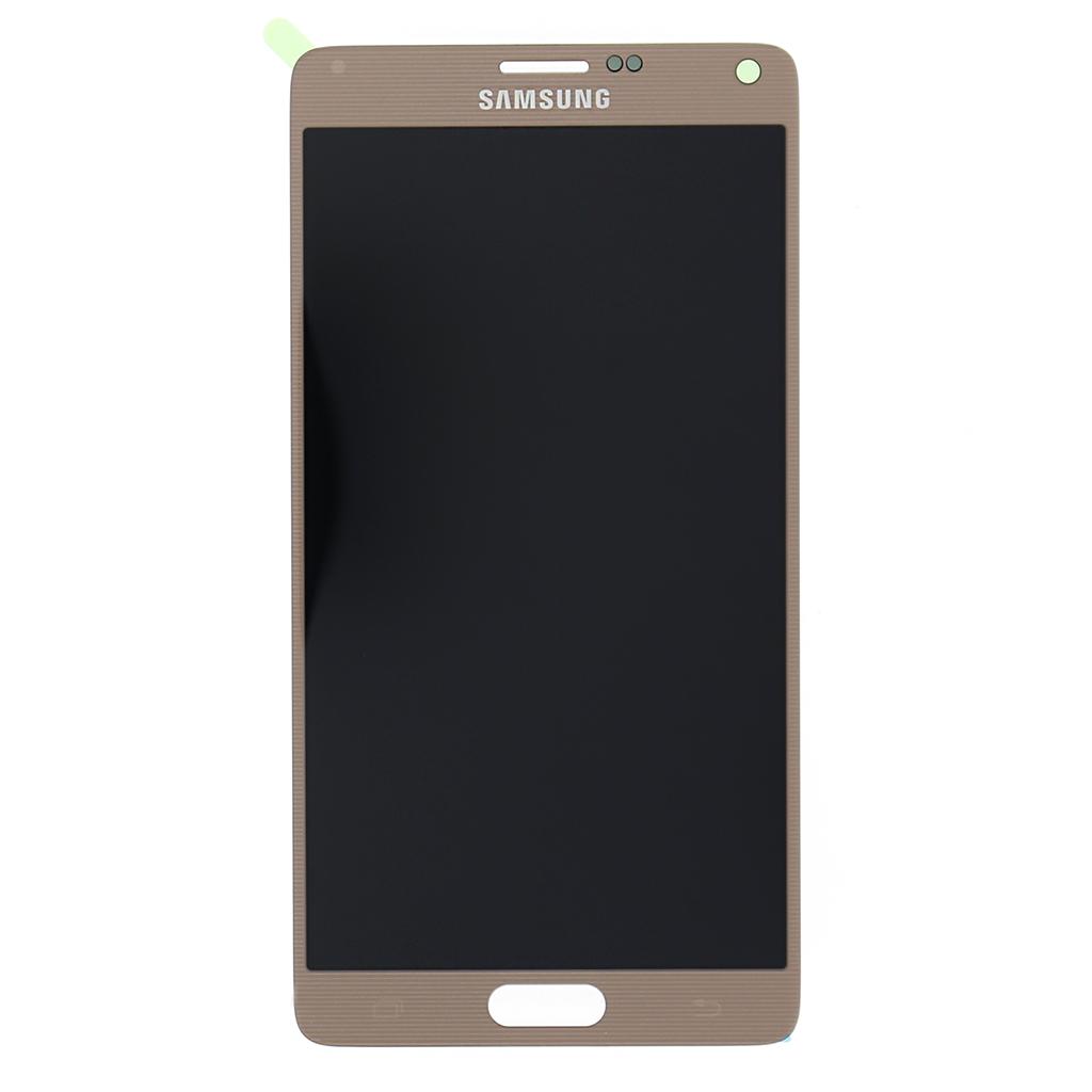 LCD + dotyk pro Samsung Galaxy Note 4 gold