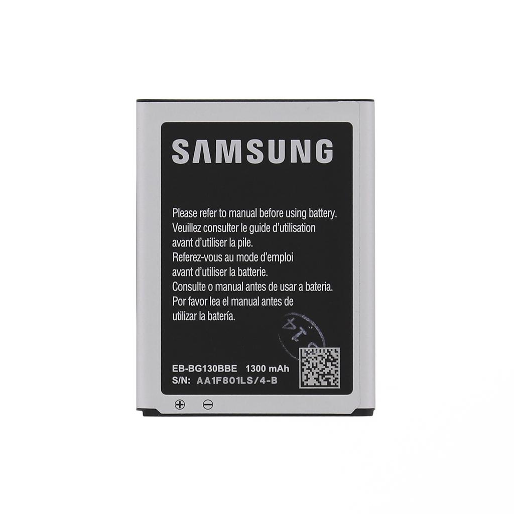 Originální baterie Samsung EB-BG130ABE, Li-Ion 1300mAh (Bulk)