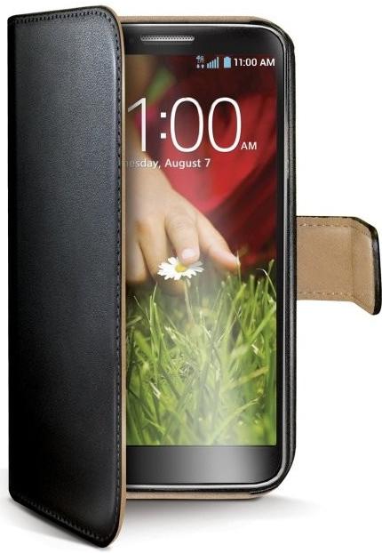 Pouzdro CELLY Wally pro Microsoft Lumia 430 černé