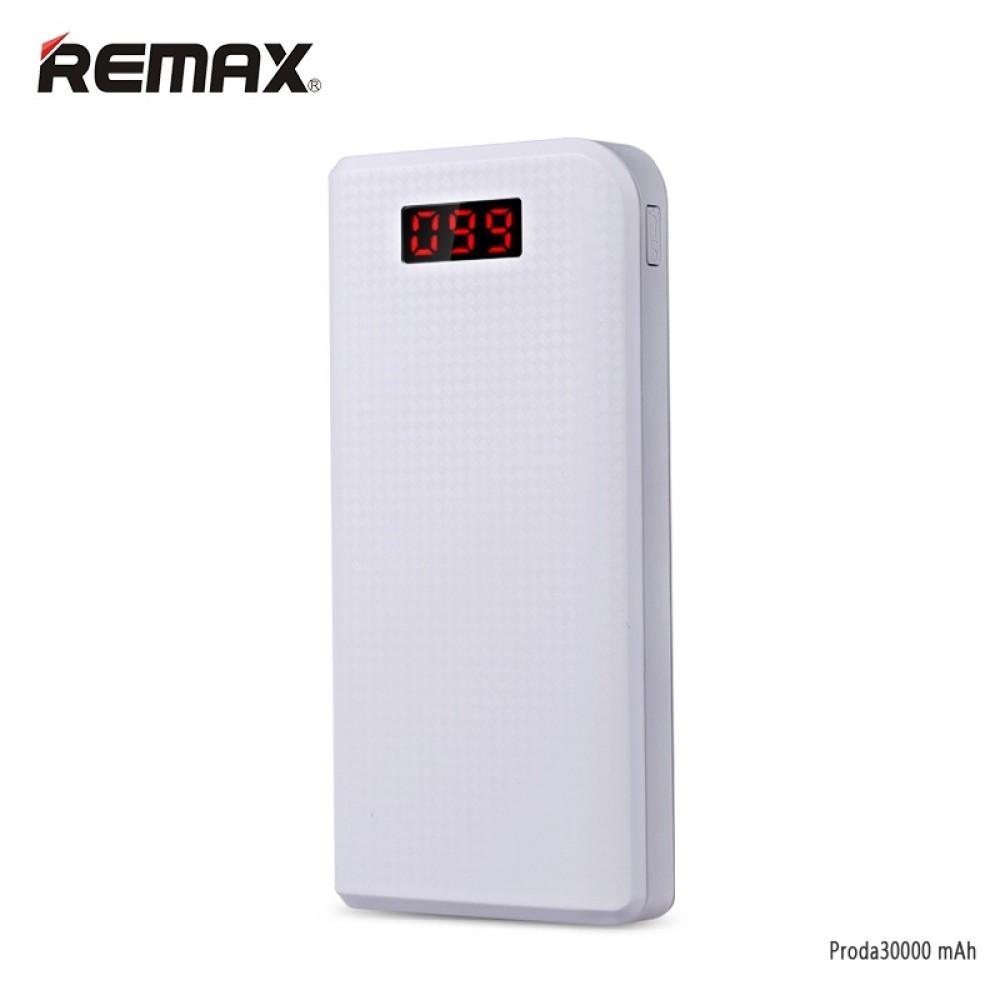 Remax Proda PowerBank 30000mAh Li-Pol bílá
