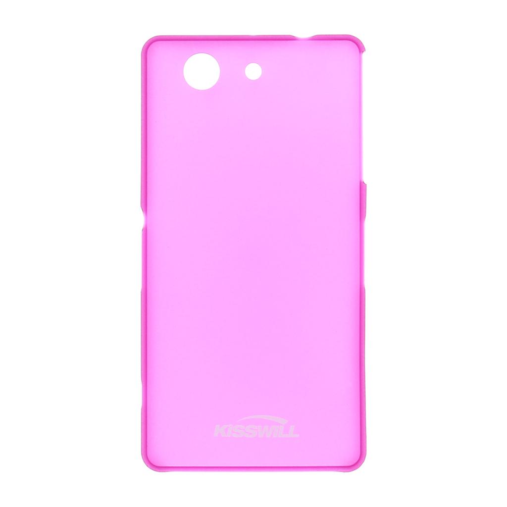 Pouzdro Slim Protective 0,3 mm na Sony Xperia Z3 (D5803) Compact růžové