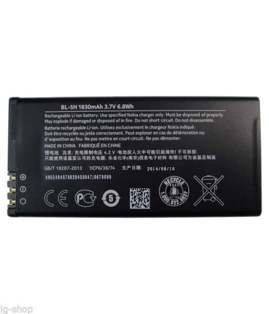 Baterie Nokia BL-5H 1830mAh Li-Ion