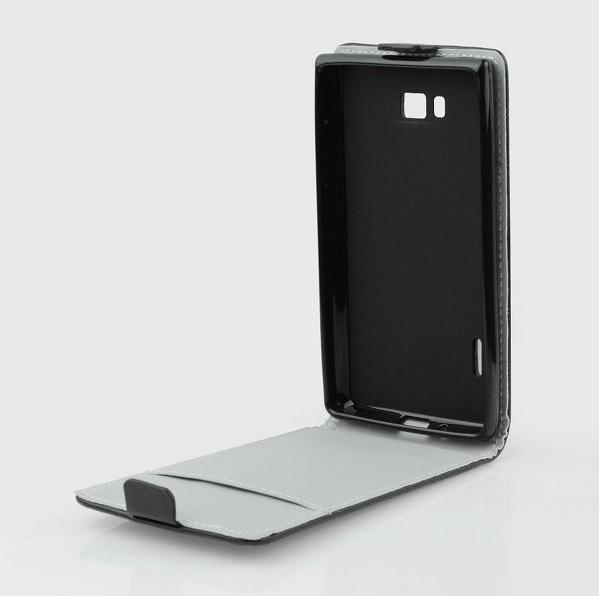 Pouzdro flip na Lenovo Vibe X2 ForCell Slim Flexi černé