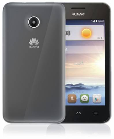 Silikonové pouzdro na Huawei P8 Lite CELLY Gelskin bezbarvé