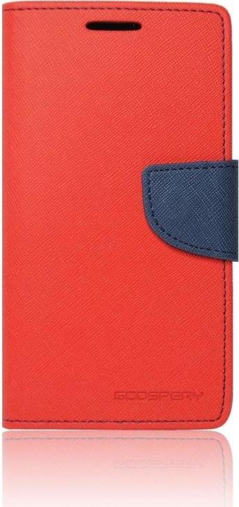 Mercury Fancy Diary flipové pouzdro pro Samsung Galaxy Grand Prime červená