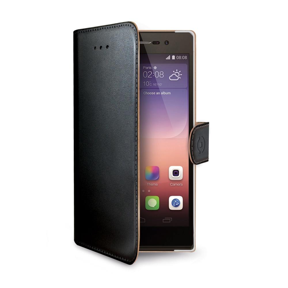 Pouzdro CELLY Wally pro Huawei P8 Lite černé