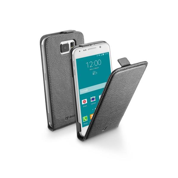 Pouzdro flip na Samsung Galaxy S6 CellularLine černé