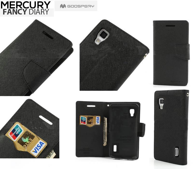 MERCURY Fancy Diary flipové pouzdro pro Samsung Galaxy J5 černé