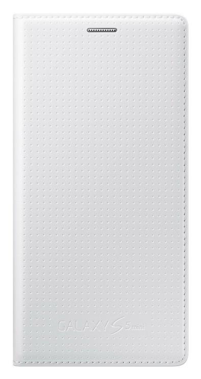 Originální pouzdro na Samsung Galaxy S5 mini EF-FG800BH bílé