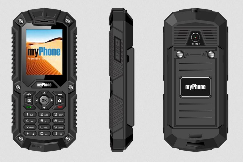CPA myPhone HAMMER Dual SIM Black