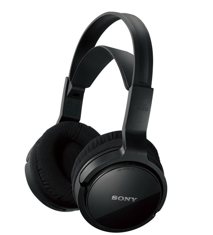 Bezdrátová sluchátka SONY MDR-RF811RK černé