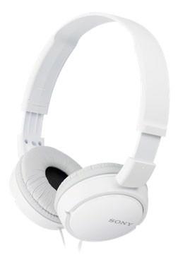 Sluchátka SONY MDR-ZX110W bílé