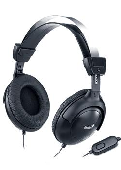 Sluchátka s mikrofonem GENIUS HS-M505X černé