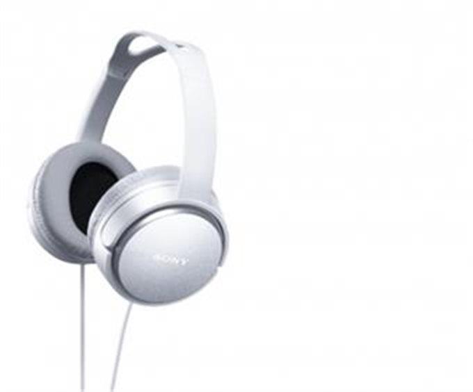 Sluchátka SONY HiFi MDR-XD150 bílé