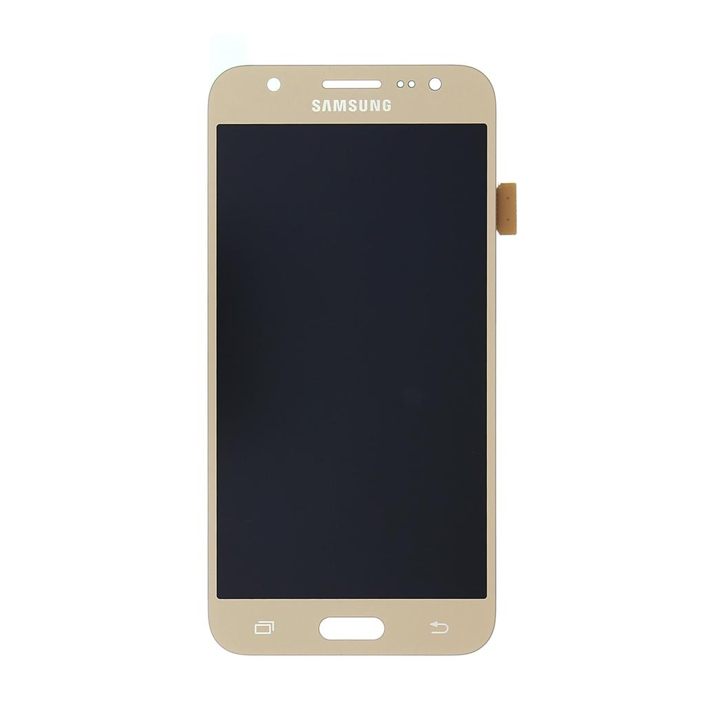 LCD display + dotyková deska pro Samsung J500 Galaxy J5, gold (service pack)