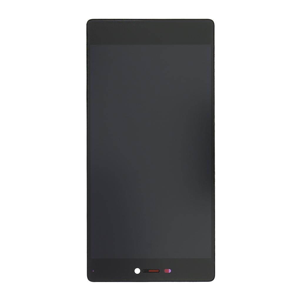 LCD + dotyk + přední kryt (separated) pro Huawei P8, black