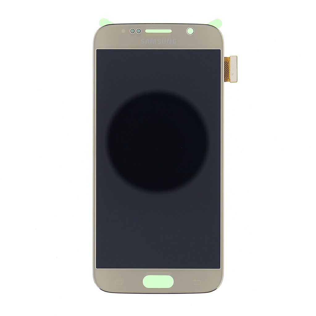 LCD display + dotyková deska Gold pro Samsung Galaxy S6 G920 - originál