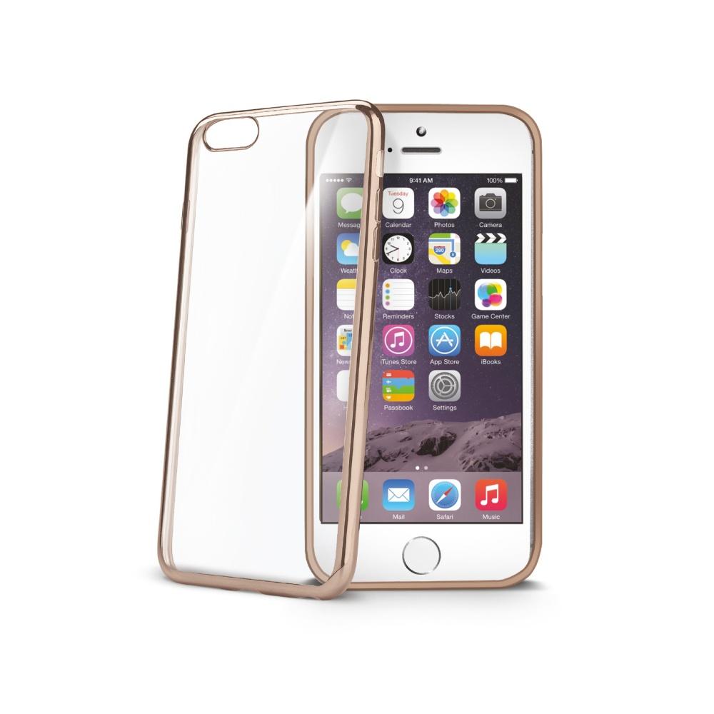 Pouzdro CELLY Laser na Apple iPhone 6/6S zlaté