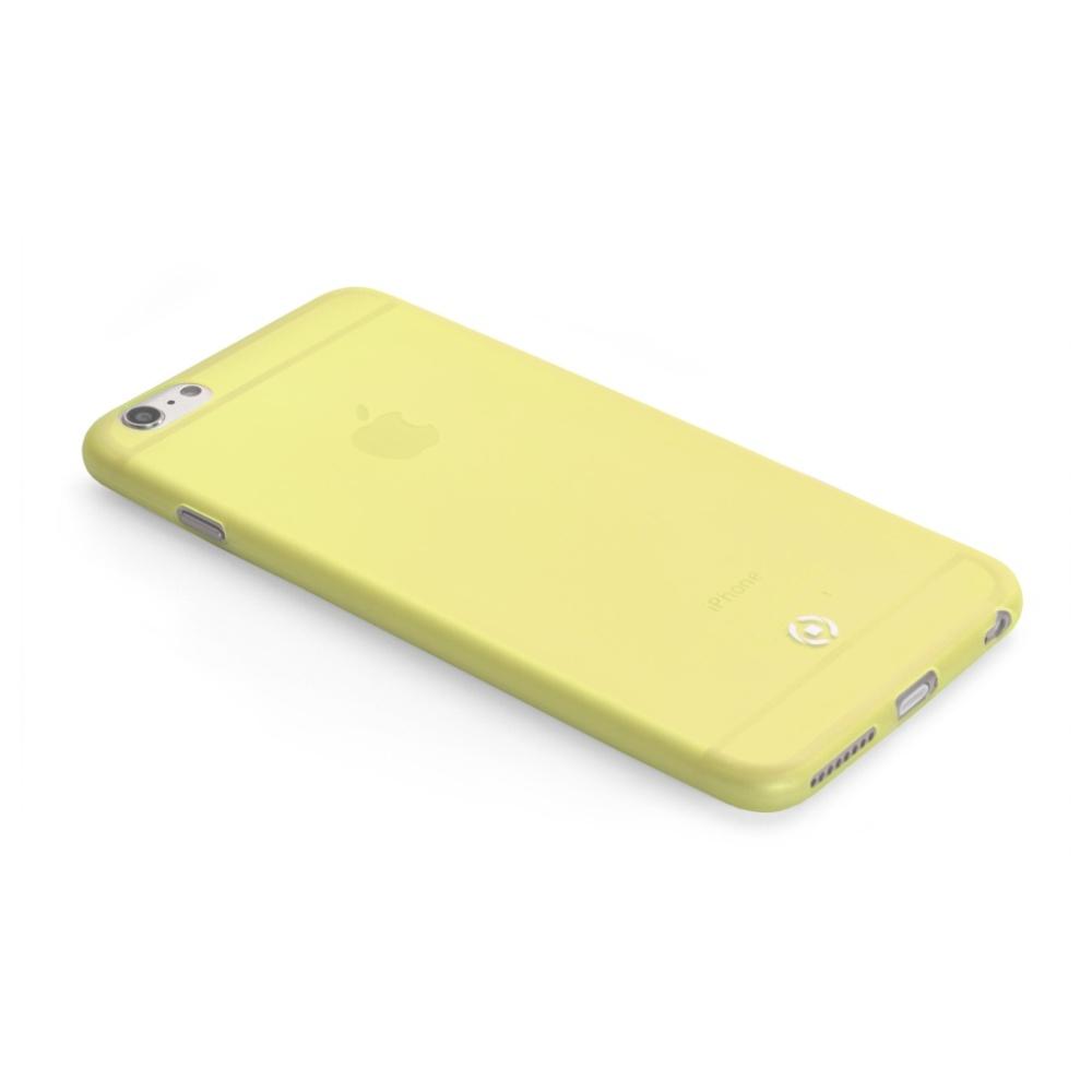 Pouzdro CELLY Frost na Apple iPhone 6/6S 0,29 mm žluté