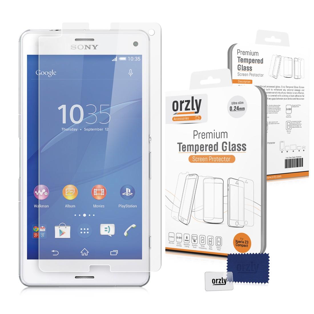 Tvrzené sklo Screenshield™ Tempered pro Sony Xperia Z5 Compact