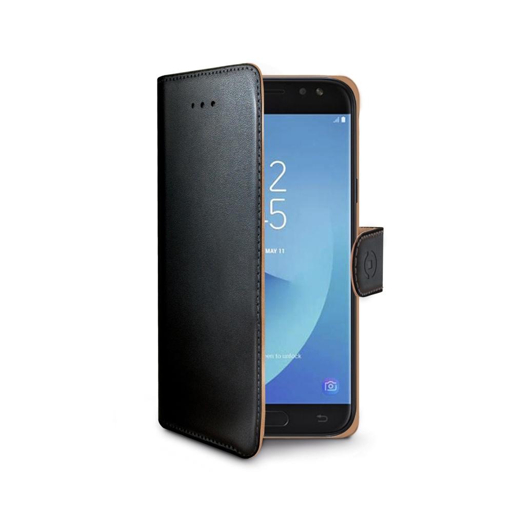 Pouzdro flip na Sony Xperia Z5 Compact CELLY Wally černé