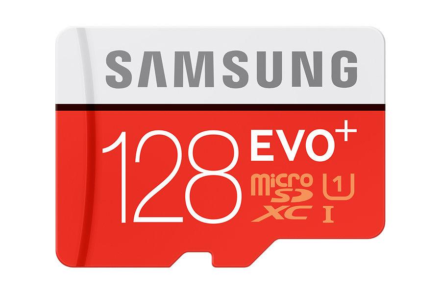 Paměťová Micro SDXC karta Samsung EVO Plus 128GB + SD adaptér