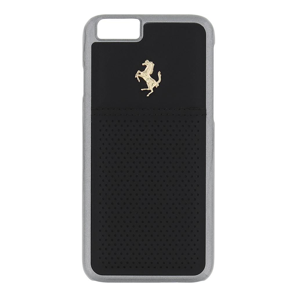 Zadní kryt Apple iPhone 6/6s FEGTBGHCP6BK Ferrari GTB černý