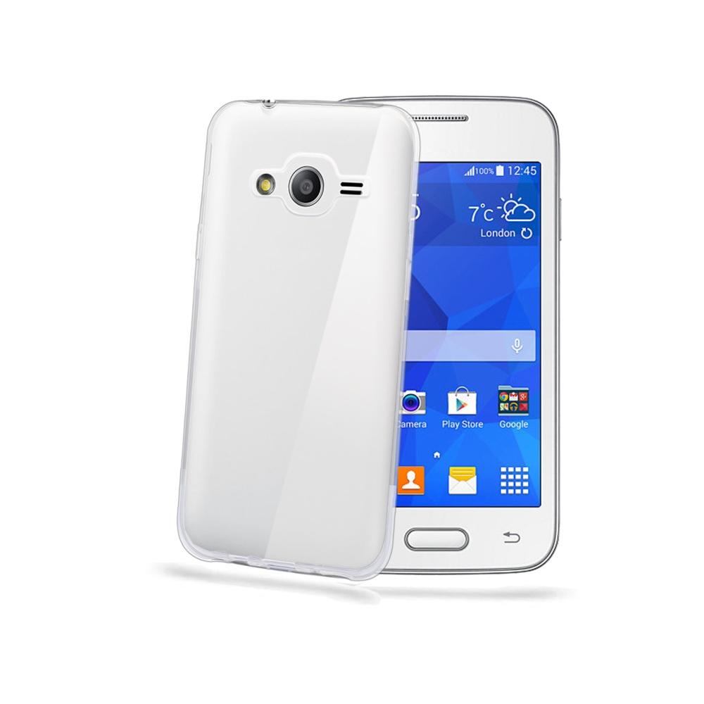 Pouzdro CELLY Gelskin na Samsung Galaxy Trend 2 Lite čiré