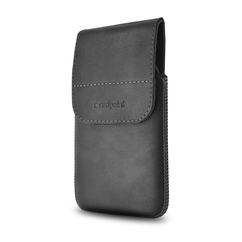 Kožené pouzdro s klipem Redpoint Posh Pocket vel. 5XL černé
