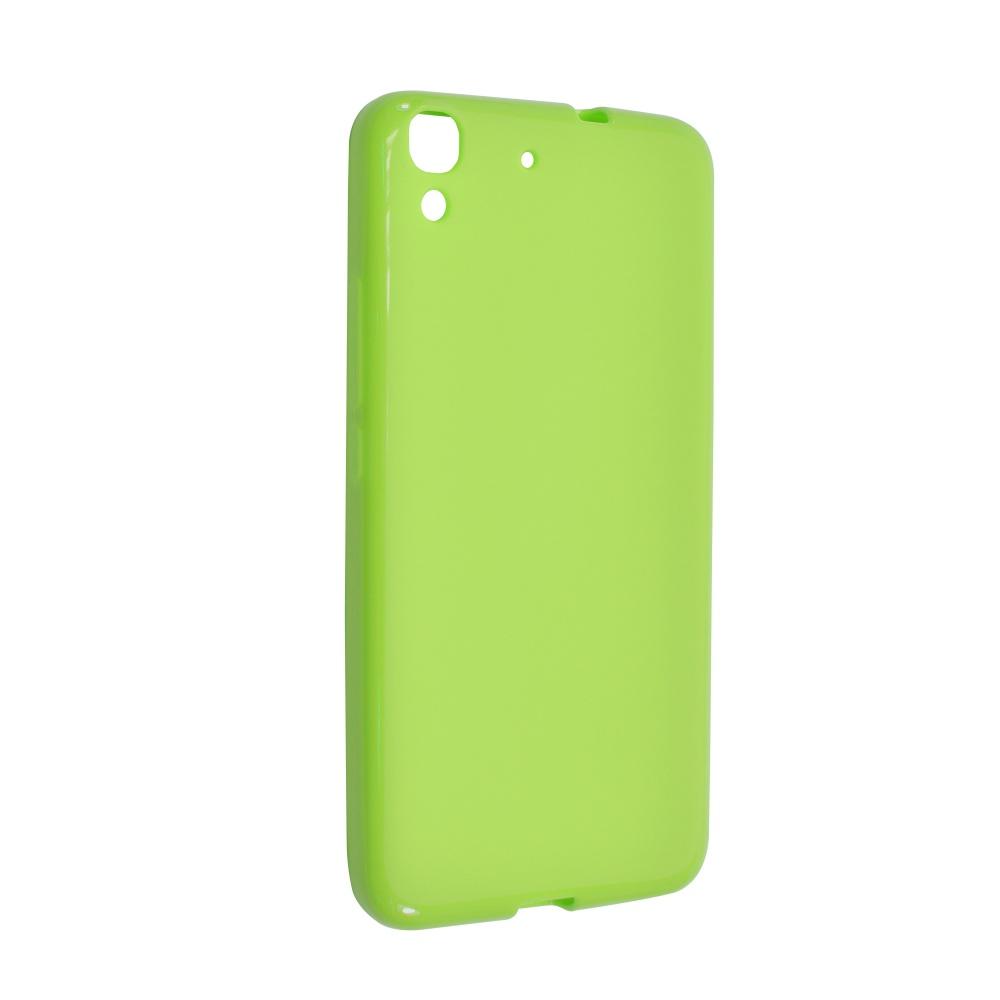Pouzdro FIXED TPU pro Huawei Y6 zelené