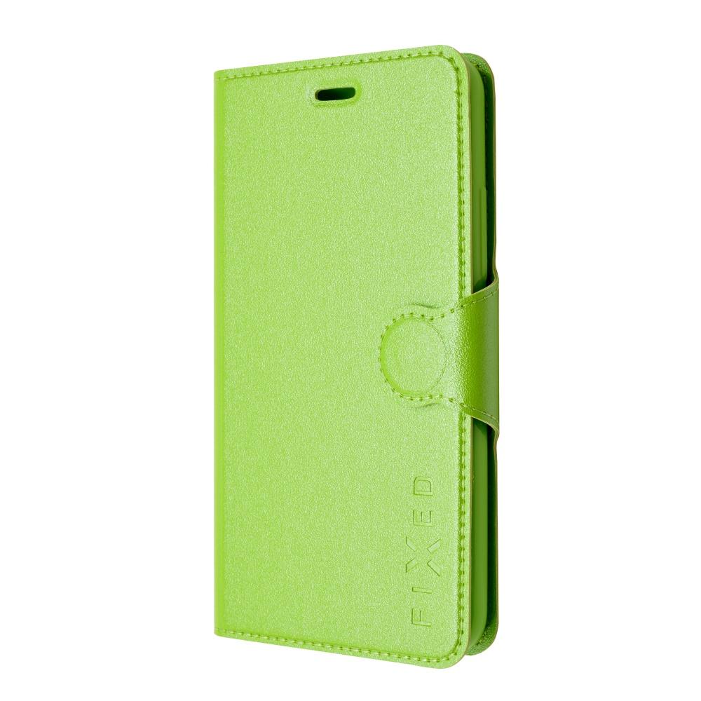 Pouzdro flip na Huawei Y6 FIXED zelené