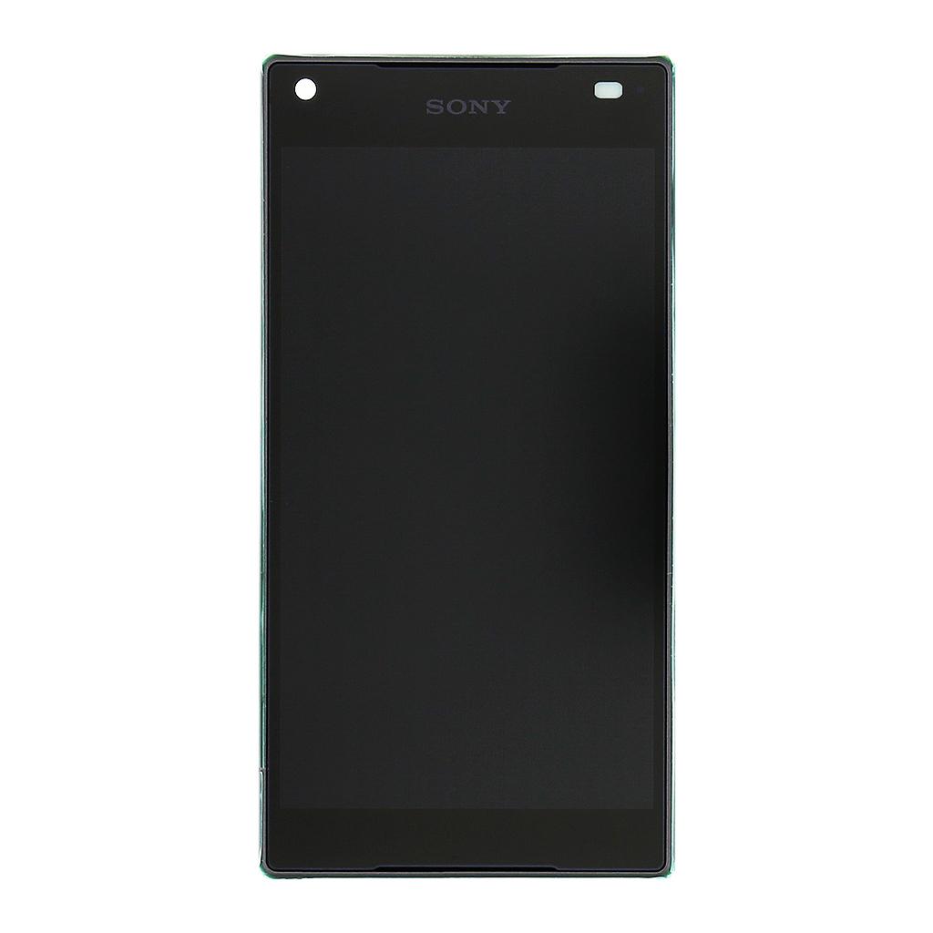 LCD display + dotyk. deska + přední kryt pro Sony Xperia Z5 compact E5823, černá