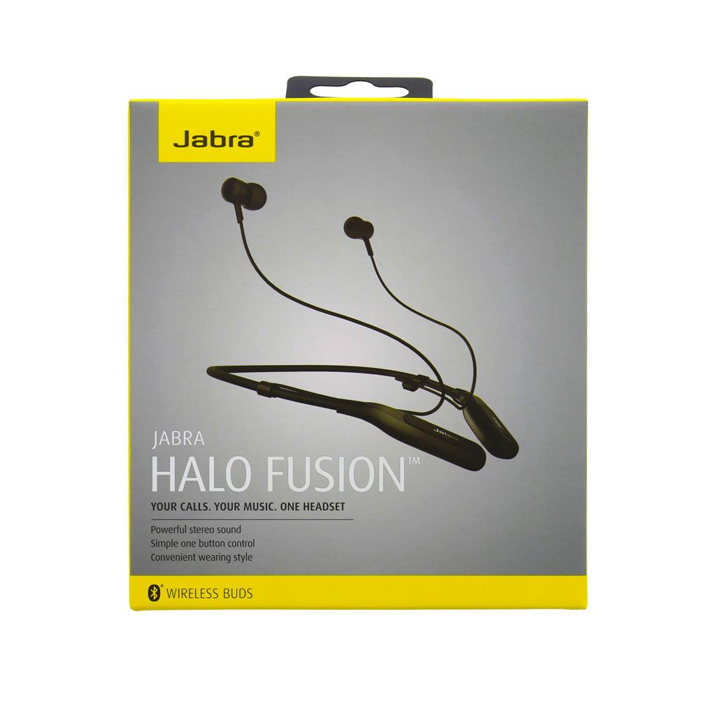 Bluetooth Jabra Halo Fusion HF hudební sada černá (EU Blister)