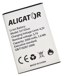 Baterie Aligator pro Aligator S515 Duo Li-Ion 2000 mAh