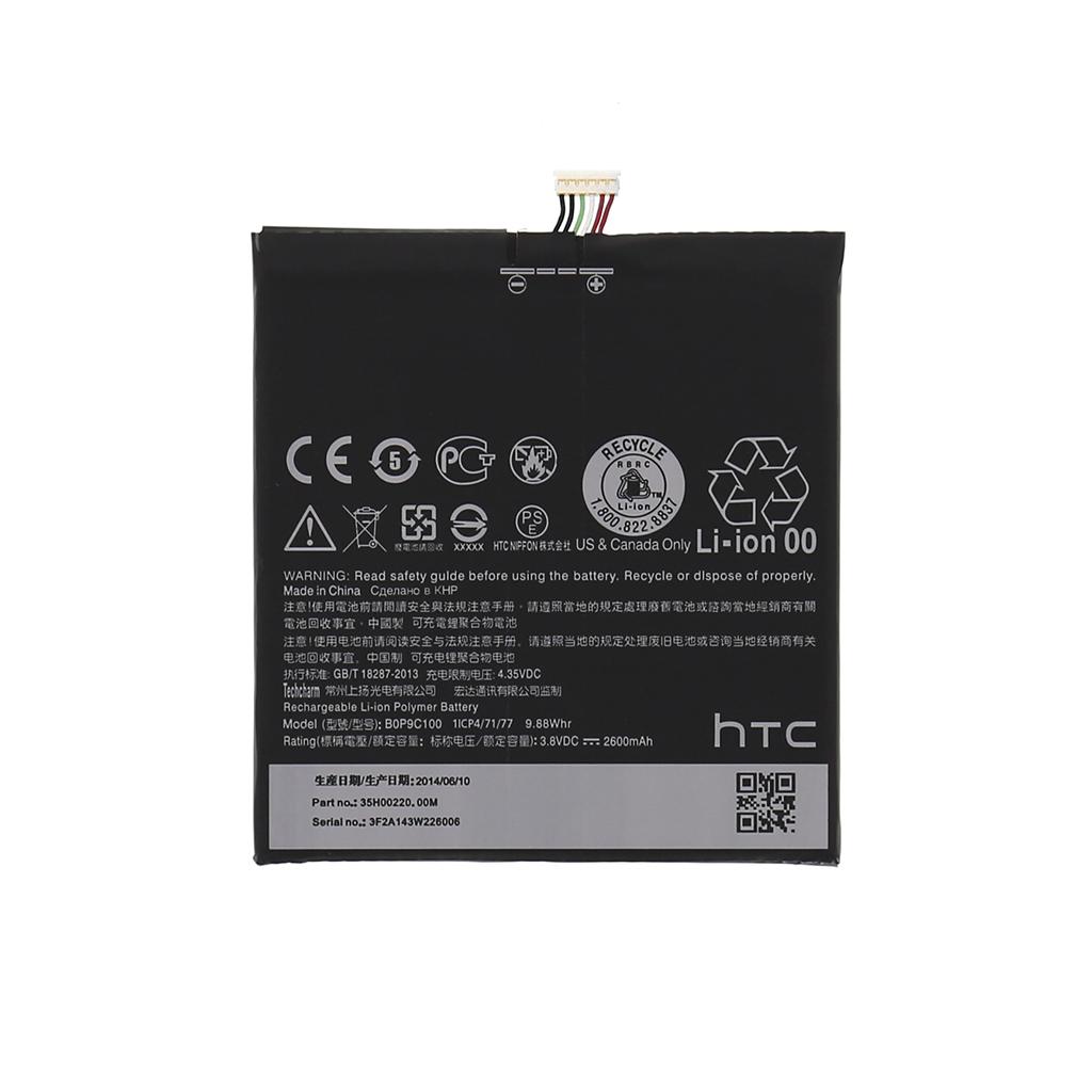 Baterie HTC B0P9C100, 2600mAh Li-Ion